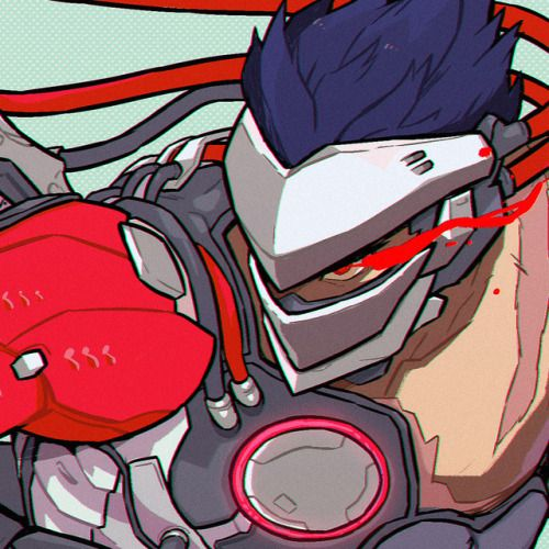 Hi guys! 1 week left to preorder a copy of the Overwatch Events Charity Zine. A fan zine based on seasonal events in Overwatch. All profits are being donated to Doctors without borders. Here is a crop of my peice. Check the link to preorder...