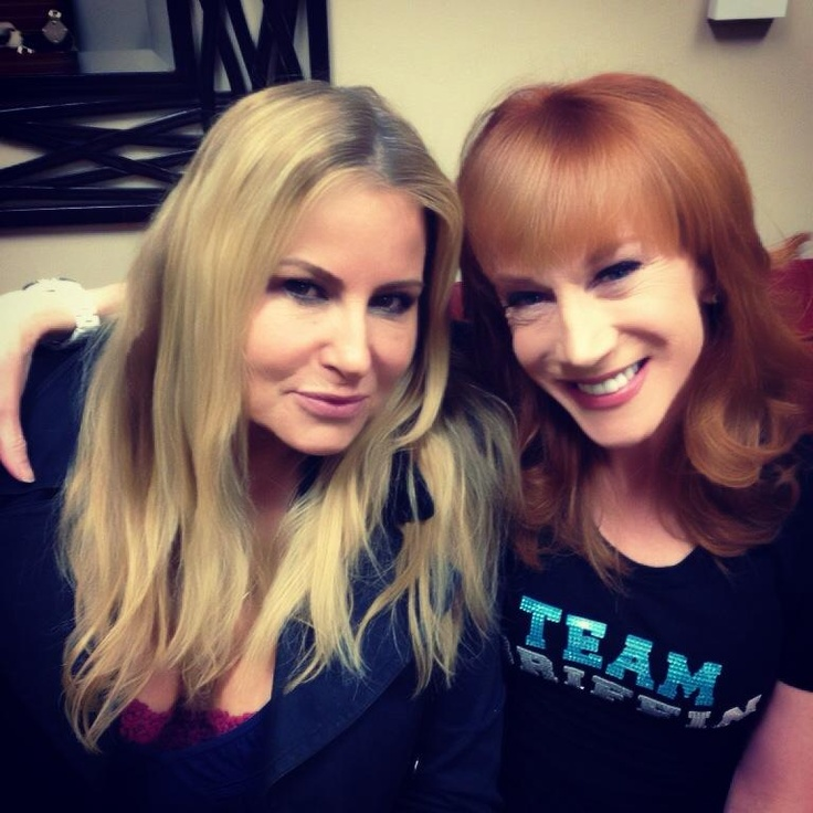 OH HELL YES!! Jennifer Coolidge & Kathy Griffin