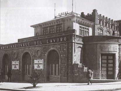 Histoire de BNL :: de 1913 à 1945 :: BNL à Asmara, en Érythrée (1935).