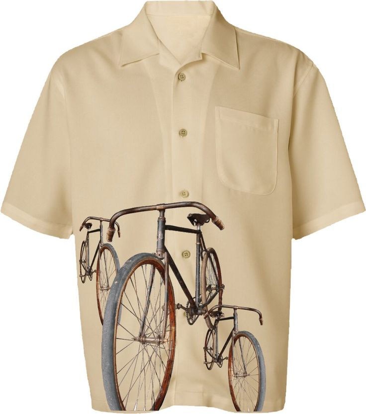 Mannen fiets Shirt-Vintage fietsen-Casual fiets Shirt-beige, weg fiets shirt, cadeau voor fietsers, fiets cadeau, cadeaus voor hem door SpokeNwheelz op Etsy https://www.etsy.com/nl/listing/157502398/mannen-fiets-shirt-vintage-fietsen
