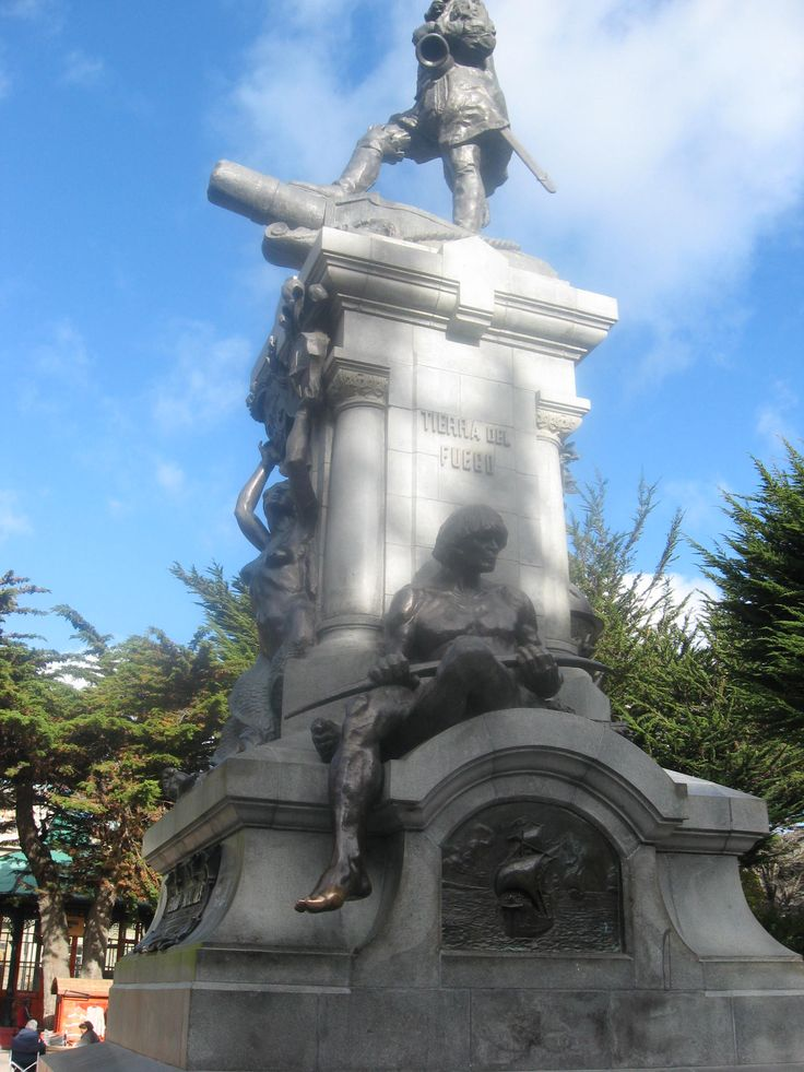 El dedo del indio patagón-Punta Arenas