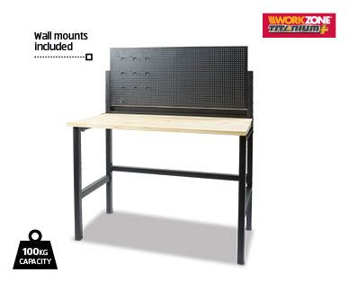 Foldable Garage Workbench