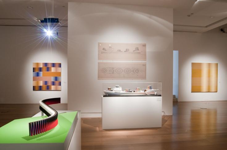 Exposición Carlos Cruz-Diez. El color en el espacio y en el tiempo.: The Color, Color, Good Air