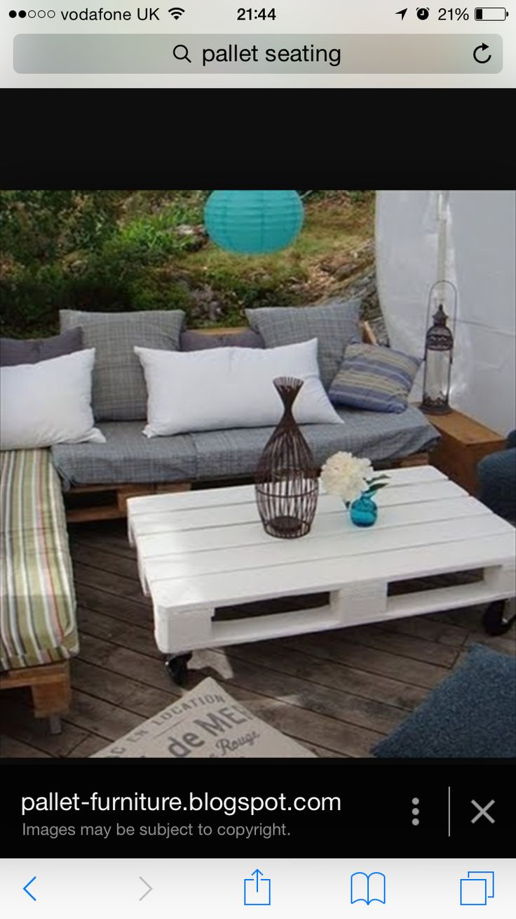 Pin by John Burke on Pallets | Pinterest | Pallets, Coffe table and Small  spaces