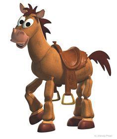 Tiro al Blanco, el caballo de Toy Story