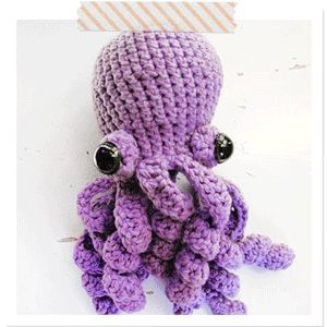 Amigurumi Octopus Pattern: Crochet Ideas, Octopuses Patterns, Crafts Ideas, Amigurumi Octopuses, Crochet Projects, Animal Crochet, Crochet Amigurumi, Crochet Patterns, Amigurumi Patterns