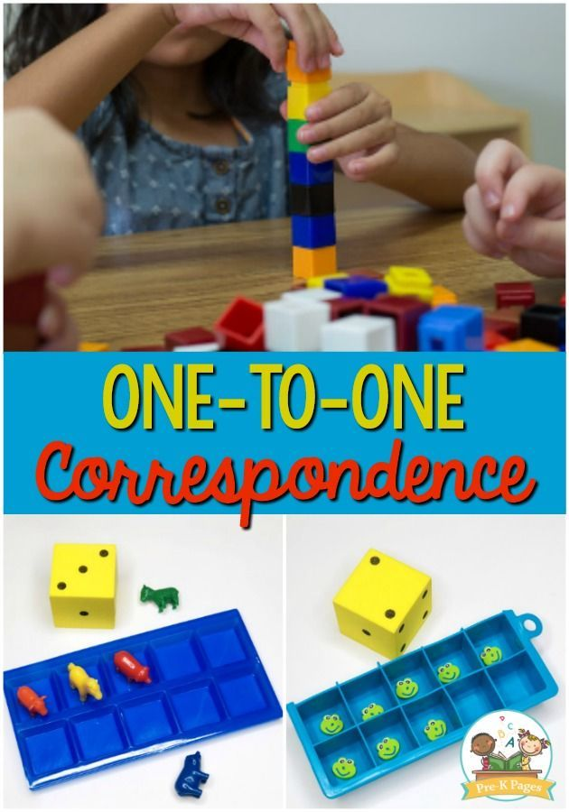 How To Teach One To One Correspondence Pre K Pages