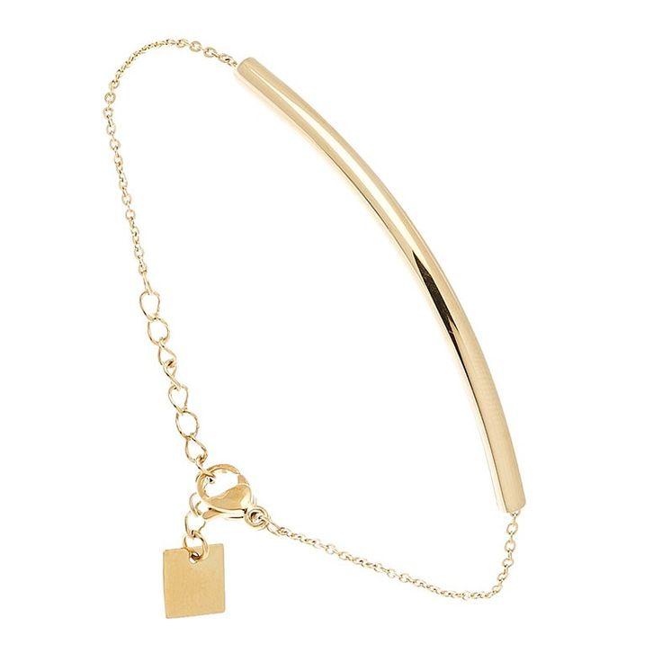 Bracelet Tube (doré rose) - Bijoux Fantaisie Créateurs