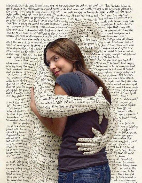 Két szeretetnyelv: érintés és szavak...