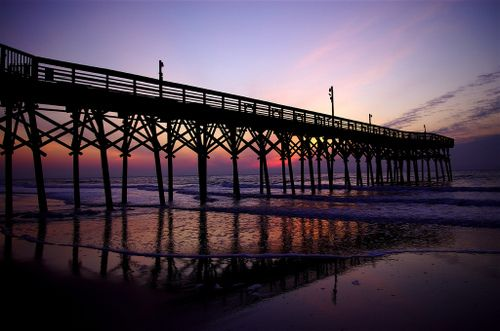 Pier 14 in Myrtle Beach, would love to go back there and watch the sunset!