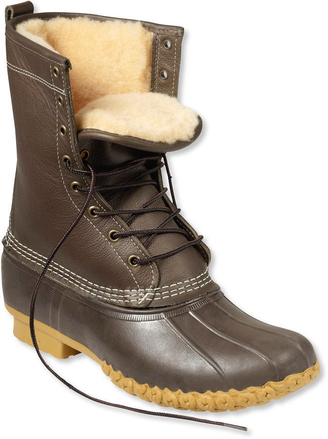 """Cool Winter Fashion Boots Men's Bean Boots by L.L.Bean, 10"""" Shearling-Lined  api.shopstyle.com...... Check more at http://24shopping.ga/fashion/winter-fashion-boots-mens-bean-boots-by-l-l-bean-10-shearling-lined-api-shopstyle-com-2/"""