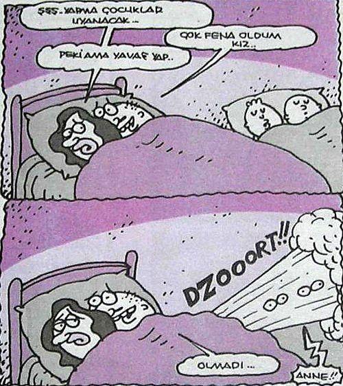 Yiğit Özgür; Çocuklar uyanacak!  :)