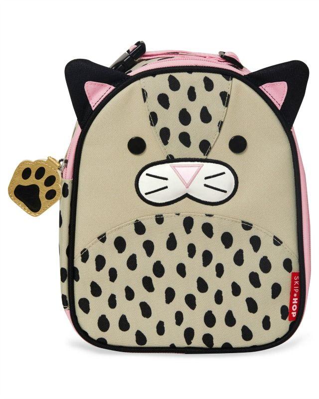 Skip Hop Zoo Lunchies-Kids Lunch Bag-Leopard