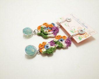 Ierse haak Lace sieraden vlinder 2-b gehaakte armband Fiber
