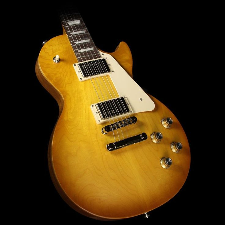 2017 Gibson Les Paul Tribute T Electric Guitar Faded Honey Burst