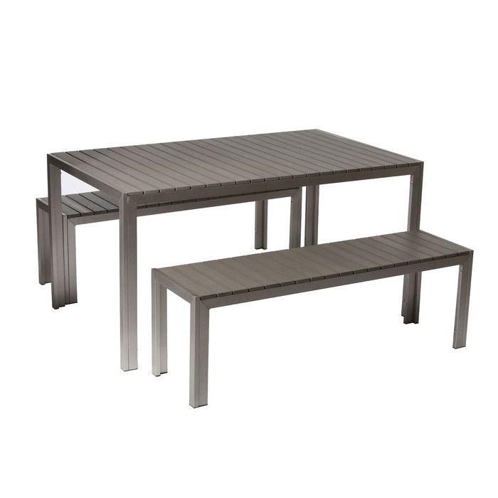 3 Piece Clifford Patio Dining Set U0026 Reviews | Joss U0026 Main