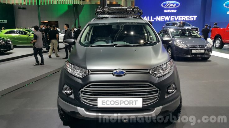 Ford EcoSport custom face at 2015 Thailand Motor Expo