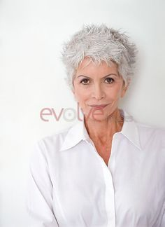 Senior Hairstyles for White Hair | Over 50s are getting younger in their attitude and lifestyles (posed ...