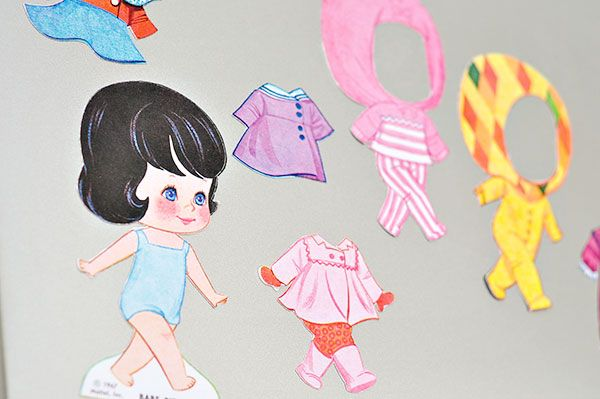 The Cheese Thief: Magnetic Paper Dolls(Liddle Kiddles Paper Dolls)