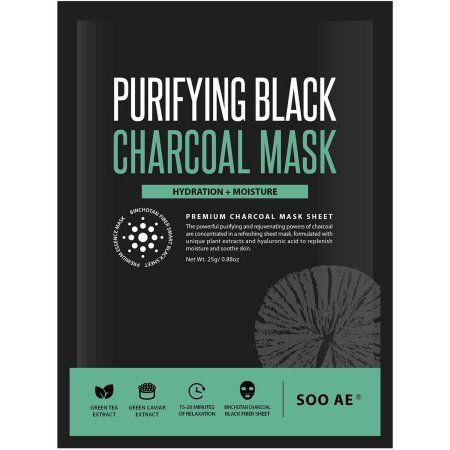 Soo Ae Purifying Black Charcoal Mask, 0.88 oz - Walmart.com