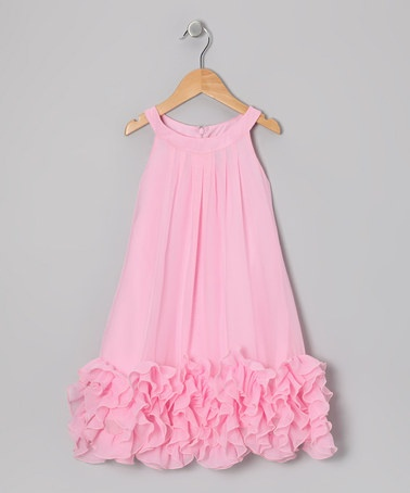 Take a look at this Pink Dana Dress - Toddler & Girls by Periwinkle on #zulily today!