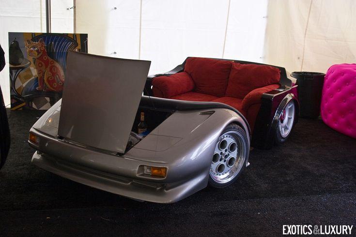 Lamborghini Rolls Royce Couch Automotive Furniture
