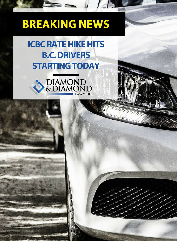 The average B.C. driver will pay an additional $130 per year for #CarInsurance due to #ICBC rate increases announced last September. This is one of many efforts being made by the government to fix the financial crisis at the ICBC.