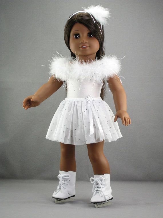American Girl doll clothes 3 piece Ice skate by DolliciousClothes
