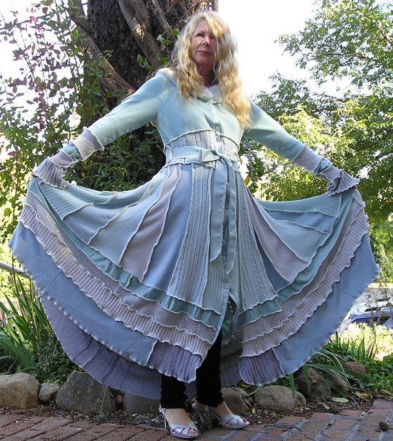 Sale Today  25500  Recycled Sweater Coat  by VintageDesignByVines, $255.00