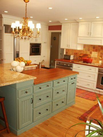 Julia Child Kitchen Cabinet Color