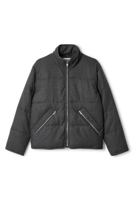 Weekday Woom Jacket in Dark Grey