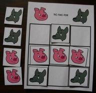 Les 3 petits cochons : accessoires pour activités préscolaires - Les éditions Boîte à Surprises