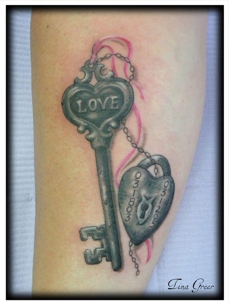 25 best ideas about lock key tattoos on pinterest kids with tattoos lock tattoo and tatto - Tattoo en commun ...