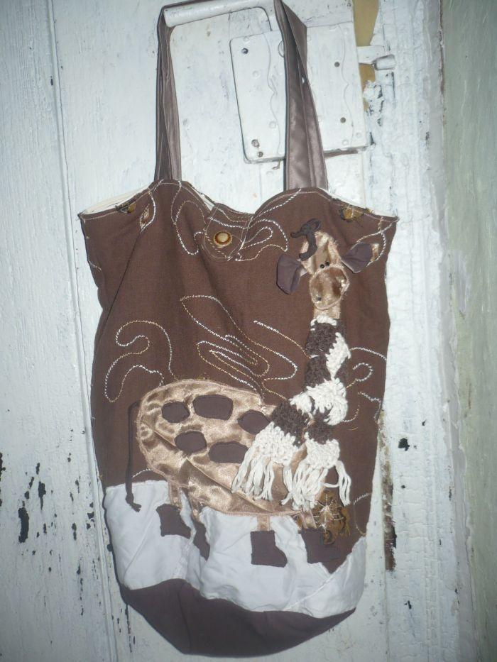 Torba z żyrafą.