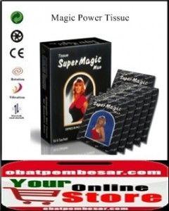 Magic Power Tissue  Info Lengkap : www.obatpembesar.com  PEMESANAN : Hp : 0823 111 44 888 / 2645C242