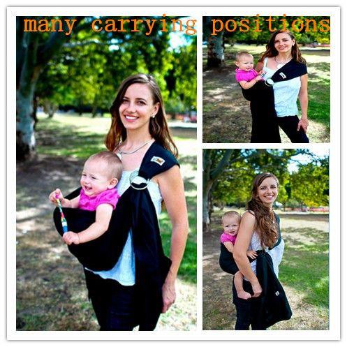 Anello fionda bambino carrier pouch wrap appena nato al bambino 5 in  1 imbracatura del bambino respirabile quickdry manduca wrap baby marsupio 5 colori