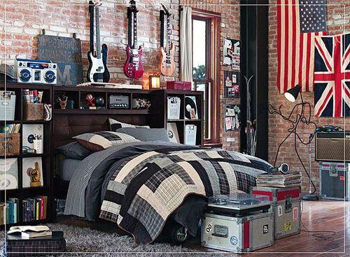 quarto masculino rock