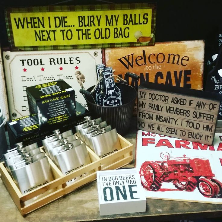 Man cave, Happy Father's Day! #fathersdaygift #giftshop #whippletreecountrystore