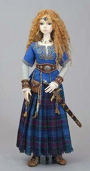 Celtic Warrior Maiden Doll - another doll my daughter (If I ever have a daughter) will have!