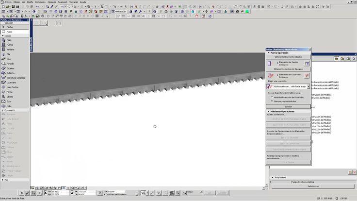 Como crear una Losa acero Chapa colaborante en ArchiCAD