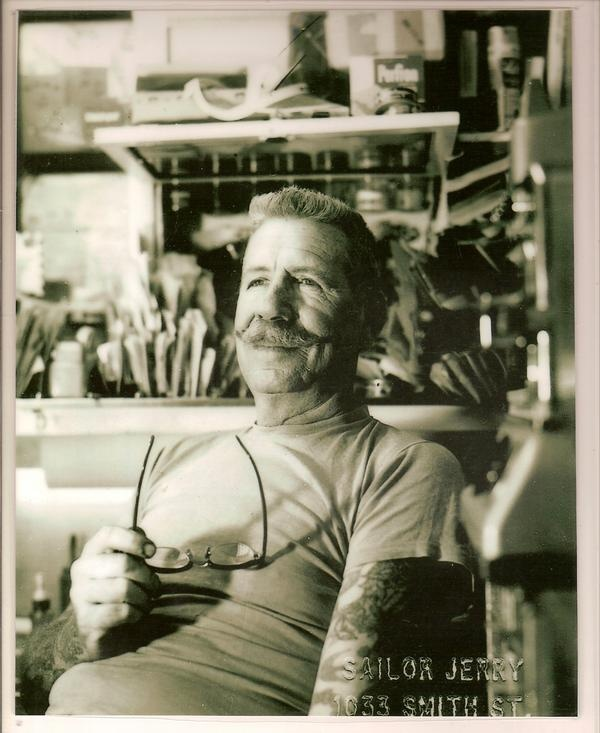 Norman collins sailorjerry grate artist 39 s pinterest for Tattoo shops in norman