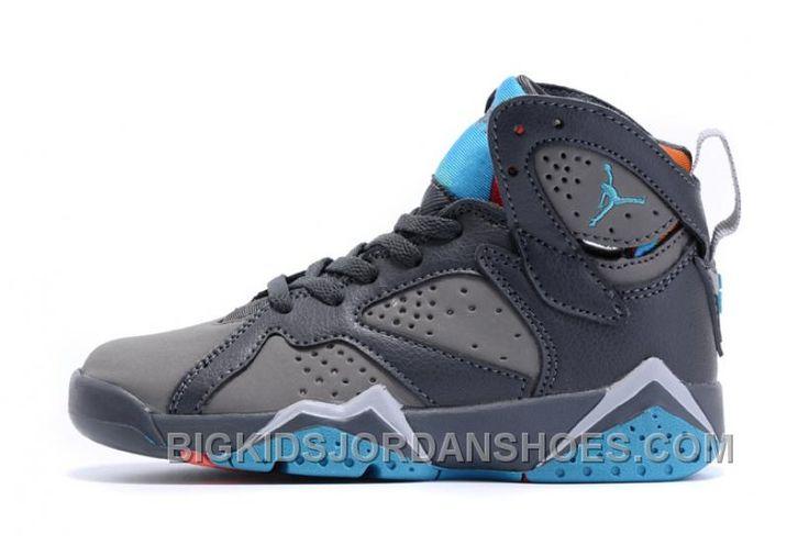 http://www.bigkidsjordanshoes.com/kids-air-jordan-vii-sneakers-209-for-sale.html KIDS AIR JORDAN VII SNEAKERS 209 FOR SALE Only $63.15 , Free Shipping!