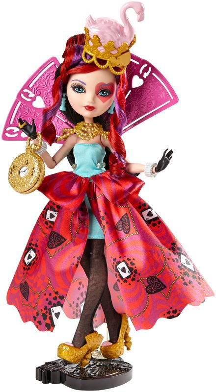 Ever After High Way Too Wonderland Lizzie Hearts Doll - Shop Ever After High Fashion Dolls, Playsets & Toys | Ever After High