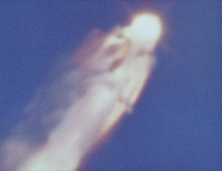 space shuttle challenger glow - photo #24