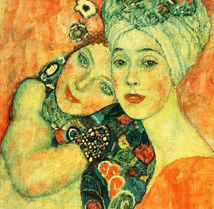 Paintings of Women Klimt | Portrait Of Women Painting