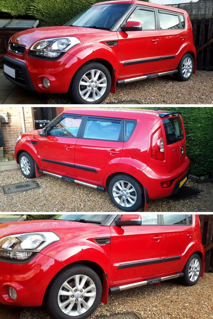 The Kia Soul is one of the more unique vehicles on the road. Thanks for the photos of our side steps fitted on yours Steve! They look great! #4x4 #Direct4x4 #Kia #Soul #SideSteps #SideBars #SideTubes #HappyCustomer #GreatFeedback