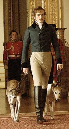 """The film-Albert with his greyhounds  """"The young Victoria"""""""