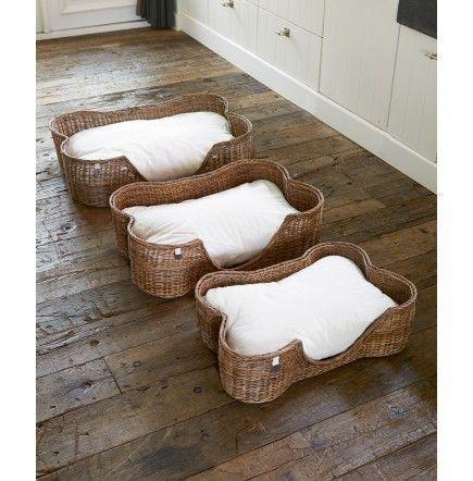 Rustic Rattan Woof Basket € 399,- #rivieramaison #interior #living #home #homedeco #pet #dog