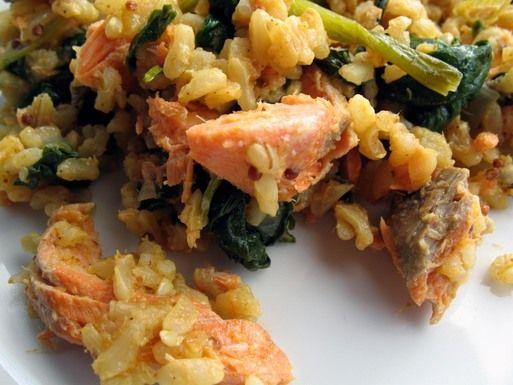 Leftover Salmon Kedgeree recipe from Food52