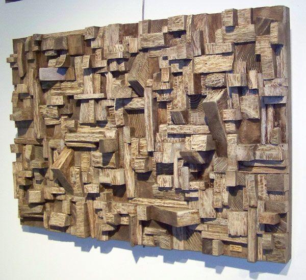 reciclar pedazos de madera - Buscar con Google